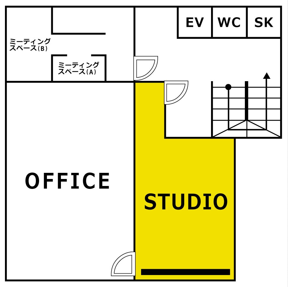 スタジオ全体図