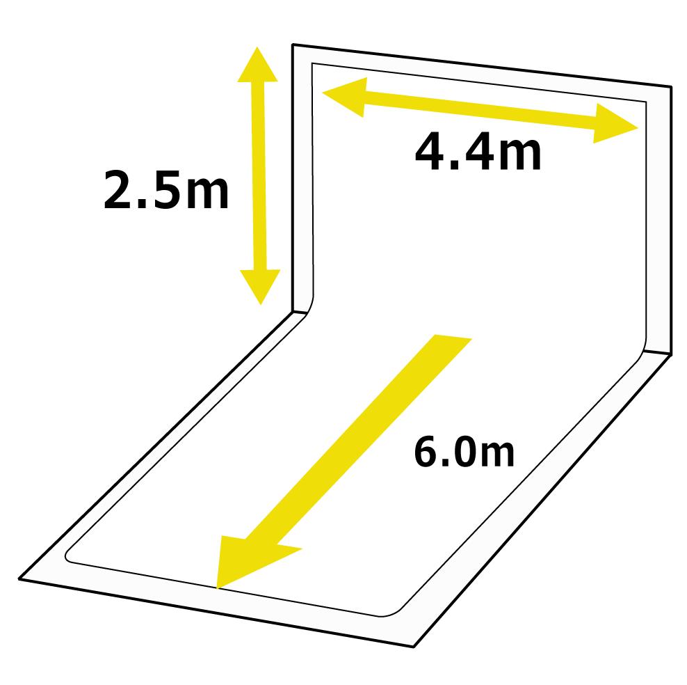 スタジオのサイズ